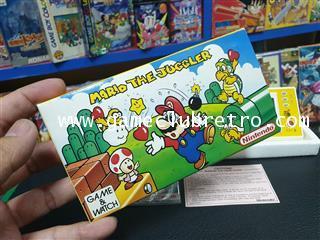Game Watch Mario Juggler  เกมกด มาริโอ้ จักเกิ้ล 1
