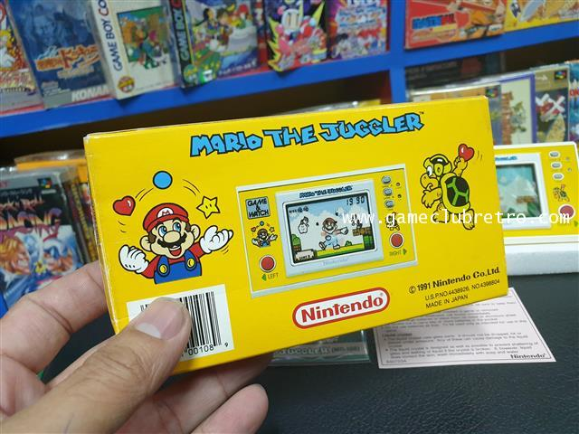 Game Watch Mario Juggler  เกมกด มาริโอ้ จักเกิ้ล 2
