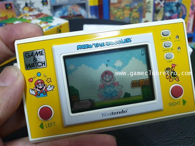 Game Watch Mario Juggler  เกมกด มาริโอ้ จักเกิ้ล 5
