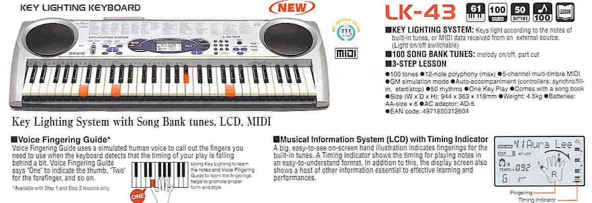 คีย์บอร์ด Keyboard ไฟฟ้า และอุปกรณ์ คาสิโอ