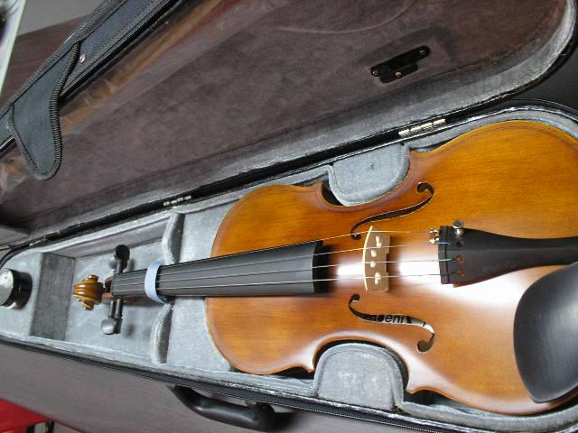 ไวโอลิน PHOENIX( handmade stradivarius)MADE IN TAIWAN 4/4พร้อมเคสบุกำมะหยี่อย่างดี+อุปกรณ์