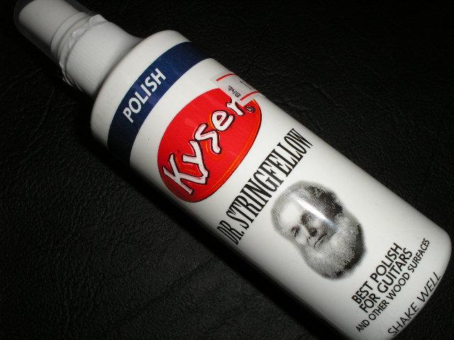 น้ำยาเช็ดตัวกีต้าร์อย่างดี ยี่ห้อ KYSER MADE IN U.S.A.