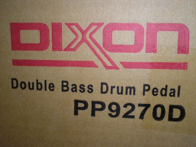 กระเดื่องคู่กลองชุด ยี่ห้อ DIXON รุ่น PP9270D คุณภาพดีมาก ราคาพิเศษ 3