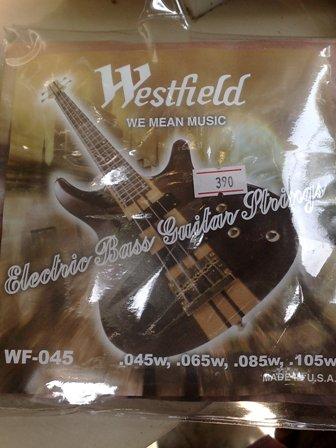 สายกีต้าร์ไฟฟ้า ยี่ห้อ Westfield