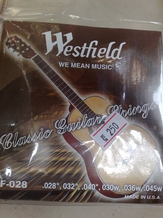 สายกีต้าร์คลาสิค ยี่ห้อ Westfield รุ่น WF-028