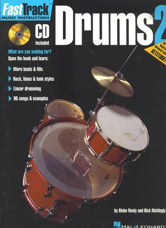 หนังสือเรียน Fast Track Drum 2 พร้อม CD