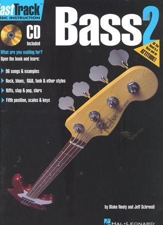 หนังสือเรียน Fast Track Bass 2 พร้อม CD
