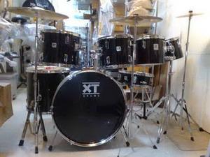 กลองชุดใหญ่ XT Drums รุ่น GX series กลอง 7 ใบ HH1คู่ ฉาบ 3 ใบพร้อมขา กระเดื่องคู่พร้อมกระเป๋า