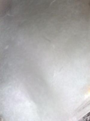 ใยสังเคาระห์สีขาวไว้ใช้ยัดดรัมเบส เพิ่มความหนักแน่นของเสียง ตึบๆๆ