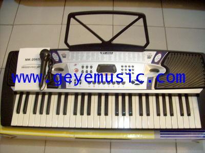 คีย์บอร์ด Keyboardไฟฟ้า รุ่น MK-2065 ต่อไมค์ร้องเพลงได้+แถมไมค์ ราคาถูกสุดๆ คุณภาพเสียงเยี่ยม