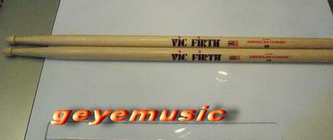 ไม้กลอง VIC FIRTH HICKORY American Classic 5B made in USA