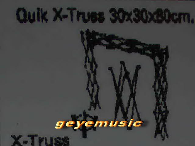 ขาย Quik X-Truss 30*30*80 cm. แข็งแรงทนทานคุณภาพเยี่ยม