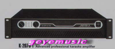 พาวร์เวอร์แอมป์ รุ่น K-2070-1 AM12 Output power:600W*2 8ohm beidge power:135W
