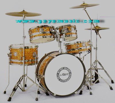 กลองชุด Lazer   PC-07 5-PC Reversible Drum Set ครบชุด