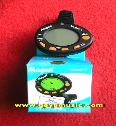 จูนเนอร์ magnet-2 Metronme  Tuner  ยี่ห้อ Magnet  เครื่องตั้งสาย