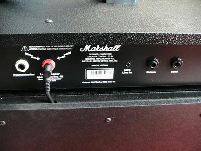 Marshall 100FX 2X12นิ้ว Combo (MG102FX) 100 Watt 6