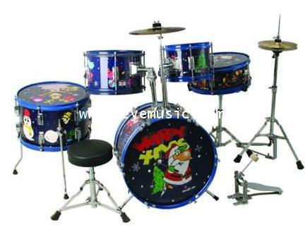 กลองชุดเด็ก Junior color Drum set  666 PERCUSSION รุ่น E-900D