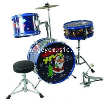 กลองชุดเด็ก Junior color Drum set  666 PERCUSSION รุ่น E-900B
