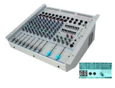 POWERED MIXER PA 850 - 8 CH