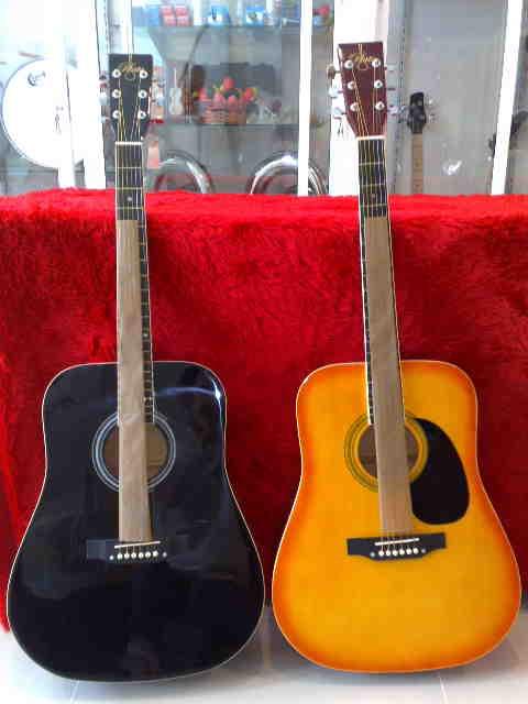 กีต้าร์โปร่ง PLATO(PA1) Acoustic Guitar 41 สีส้ม