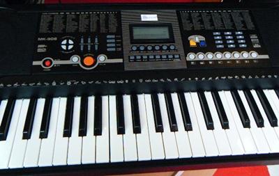 คีย์บอร์ด Keyboard ไฟฟ้า Siservier MK 906  61 คีย์ คีย์บอร์ด เครื่องดนตรี ราคาสบายกระเป๋า