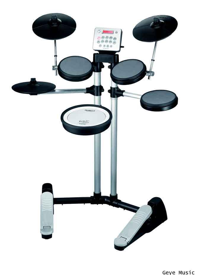 กลองไฟฟ้า ยี่ห้อ Roland รุ่น V-Drums Lite HD-3 กลอง 5 ใบพร้อมฉาบและไฮแฮท