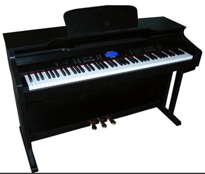 เปียโนราคาถูก ซื้อเปียโนเปียโนไฟฟ้า siservier รุ่น 8896 จอแสดงผล LCD ร้านขายเปียโนไฟฟ้าจีอาย