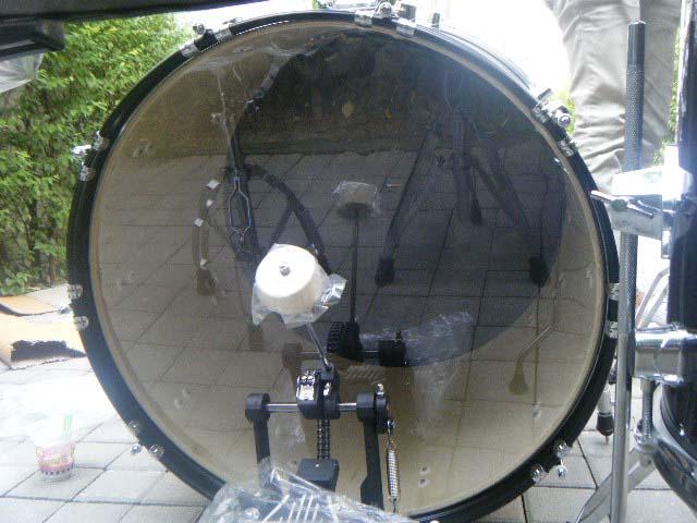 กลองชุด triplesix รุ่น GE-2500 หนังกลองชุดหนา เสียงกลองชุดหนักแน่น ส่วนประกอบกลองชุดออกแบบใหม่หมด 6