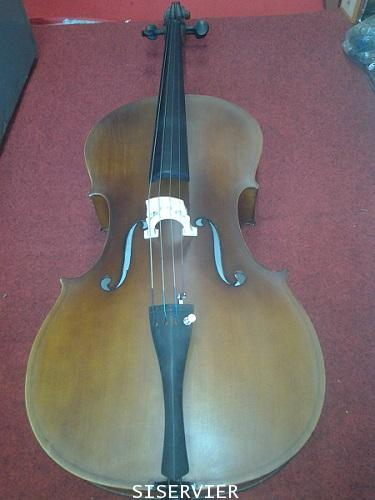 เชลโล่ ยี่ห้อ Siserveir เครื่องดนตรีสากลเชลโล  รุ่น GCL 01 ขนาด 1/2 สีไม้ เชลโล่ราคา 8900