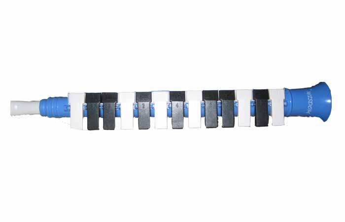 เมโลเดียนคือ เครื่องดนาตรีเล่นง่ายๆเมโลเดียน Wisdomเมโรเดียน13 คีย์ สีน้ำเงิน ใช้เล่นโน้ตเพลงเด็กได้