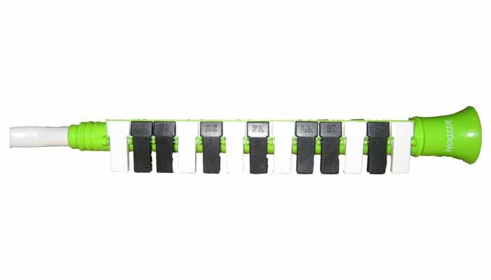 เมโลเดียน Wisdom เรียนเมโลเดียนใช้ง่าย13 คีย์ สีเขียวราคาเมโลเดีย น 109 บาท เครื่องเมโลเดียนจับถนัด