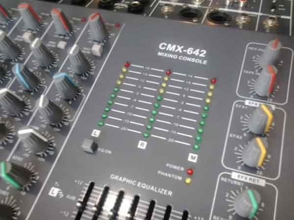 เครื่องมิกเซอร์ Mixer Epic Sun เครื่องเสียงมิกเซอร์ รุ่น GEMC 2206มิกมือสองอย่าหา เพราะมือหนึ่ง7,990