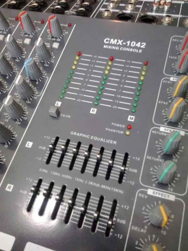 มิกเครื่องเสียง Mixer Epic Sun รุ่น GEMC 2210 ขายมิกเซอร์มือสอง ไม่รุ่ง นี่มือหนึ่งราคา 10,100
