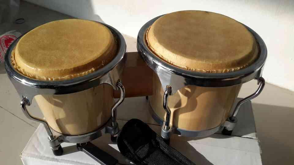 กลอง มินิ บองโก้ TRIPLE SIXMini bongo  ขนาด4quot;  5นิ้ว