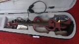 ไวโอลีนไฟฟ้า GIOVANNI MAJINI สีม่วง hand craftd คุณภาพดี พร้อมเคสอย่างดี + อุปกรณ์