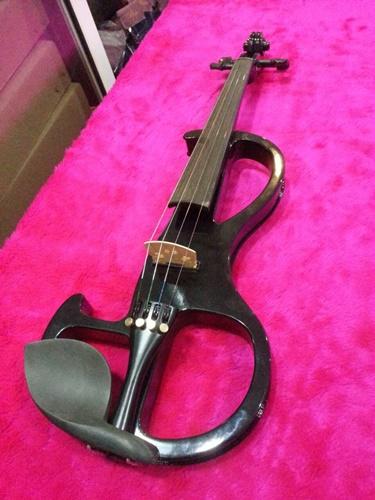 Electric Violin Siserveir GE110 สีดำ 4/4