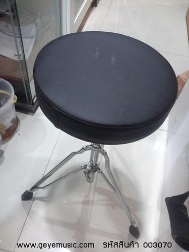 เก้าอี้กลอง DT-100 Drum throne ปรับสูงต่ำได้ ขาเหล็กตัน ฐานกว้างขึ้น