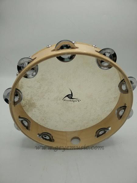 Tambourine G10 แทมบูลีน ขนาด 10 นิ้ว ยี่ห้อ TripleSix