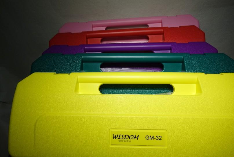 เมโลเดียน Wisdom 32 คีย์ รุ่นมาตรฐาน สีม่วง 7