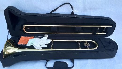 อัลโต ทรอมโบน รุ่น TP-5100L WISDOM Alto trombone สีทอง