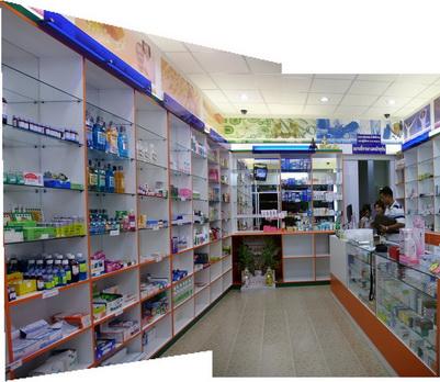 ตกแต่งร้านขายยา 2