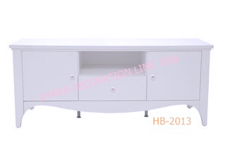 ตู้วางทีวี สีขาววินเทจ Vintage กว้าง 150cm. สีขาว สไตว์วินเทจ สวยแข็งแรง  ทนทาน ไม่เป็นรอยง่าย