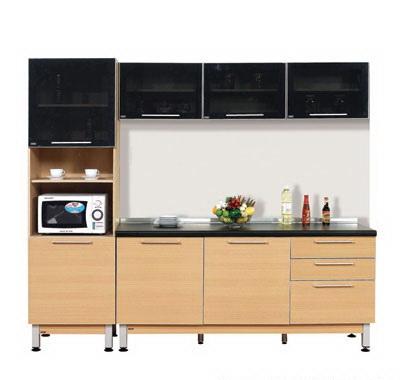 ตกแต่งห้องครัว ด้วยชุดครัวสำเร็จรูป Modular Set 23/2.4 เมตร
