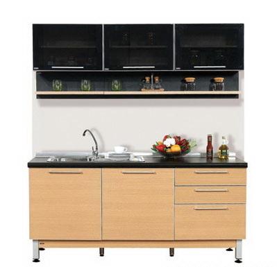 ตกแต่งห้องครัว ด้วยชุดครัวสำเร็จรูป Modular Set 21/1.8 เมตร