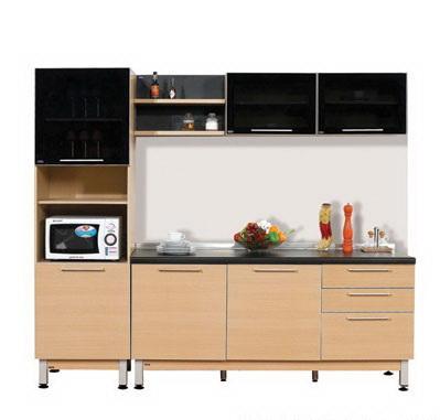 ตกแต่งห้องครัว ด้วยชุดครัวสำเร็จรูป Modular Set 25/2.4 เมตร