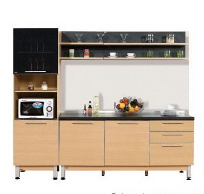 ตกแต่งห้องครัว ด้วยชุดครัวสำเร็จรูป Modular Set 22/2.4 เมตร