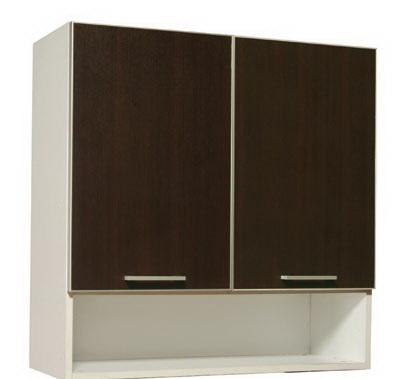 ชุุดครัวสำเร็จรูป ตู้แขวนบนบานทึบ-ช่องล่างโล่ง Smart Kit SLW-80