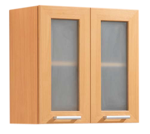 ตู้แขวน Modern Kit รหัส MW-60G บานทึบ 60 cm. บานกระจก