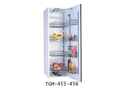 ตะแกรงอเนกประสงค์ตู้สูง บานเปิด 5, 6 ชั้น (TGM-455-456)