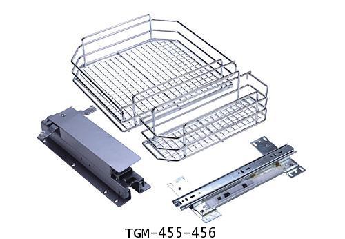 ตะแกรงอเนกประสงค์ตู้สูง บานเปิด 5, 6 ชั้น (TGM-455-456) 1
